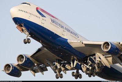 Simulando o voo BA0247: de Heathrow a Guarulhos no Boeing 747  G-CIVA