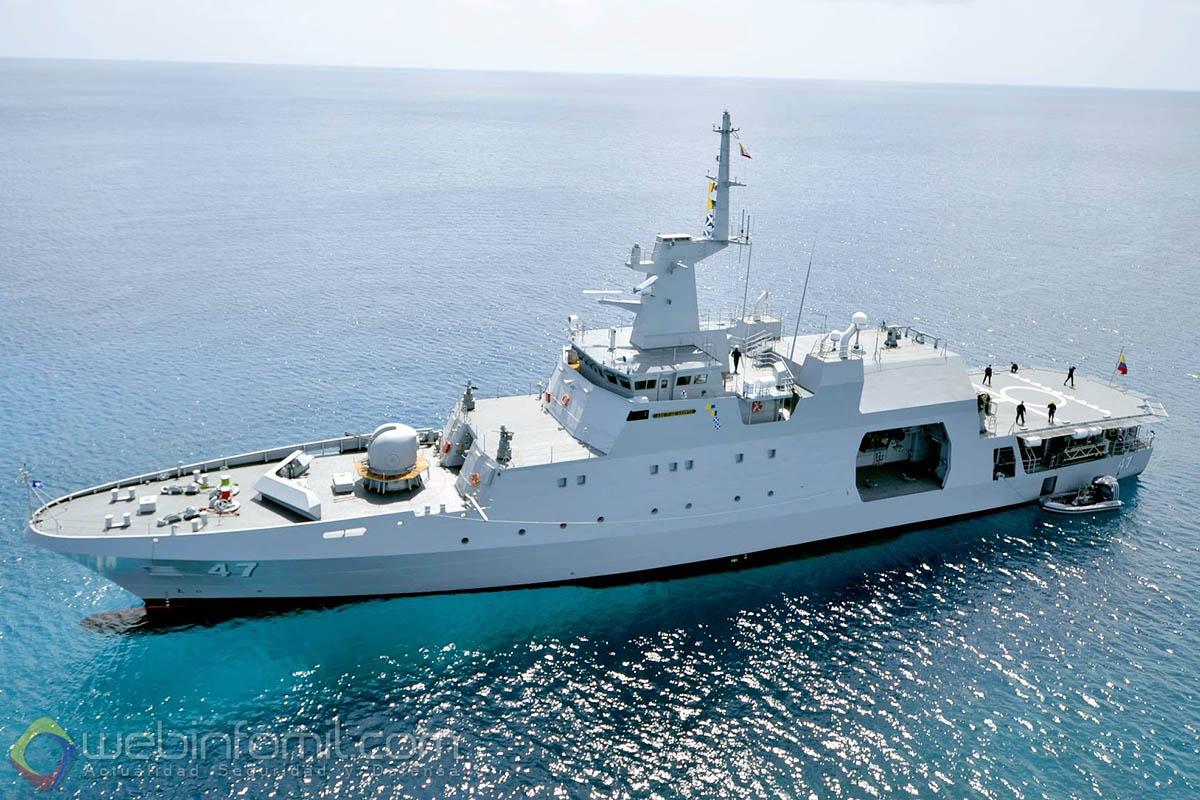 Operaciones de la armada colombiana con la OTAN y la UE OPV-80%2BARC%2B7%2Bde%2BAgosto