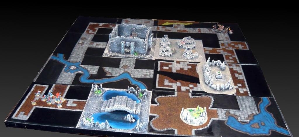 Testing Karak Zorn - first battle in the dungeons P1050476