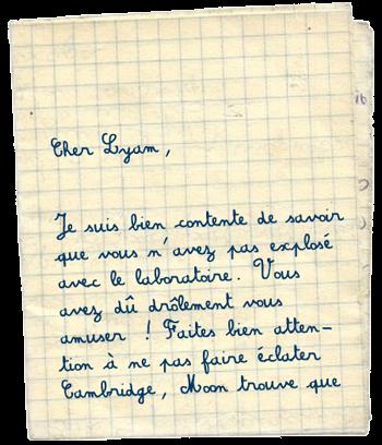 [PS épistolaire] Margotte à Lyam - 9 août 2014, p.4 - Page 2 Lettre1