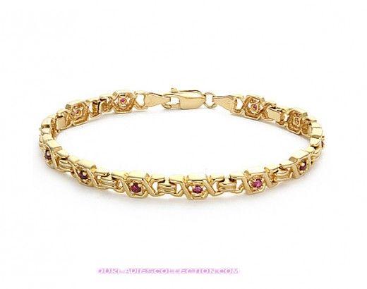 إكسسوارات للبنات ما في أحلى 2012-Latest-Gold-Bracelet-Design-520x410