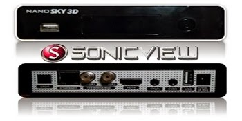 NANO - NOVA ATUALIZAÇÃO SONICVIEW NANO MULTIMIDIA 3D - 15/07/2014 Sonic