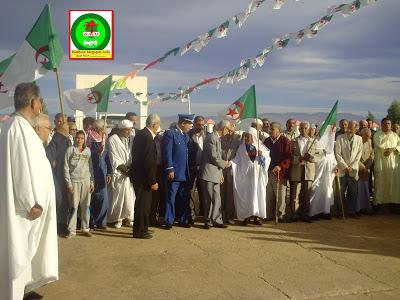 الإحتفال بالذكرى58لإندلاع ثورة 1نوفمبر 1954 المجيدة بمدينة زريبة الواد PICT0853