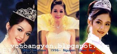 Miss Vietnam Overview MissVn1996