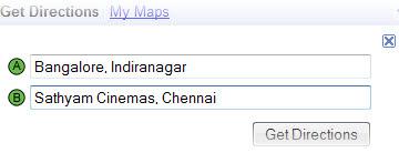 Google Maps  உபயோகிக்கும் முறை..... Get-directions