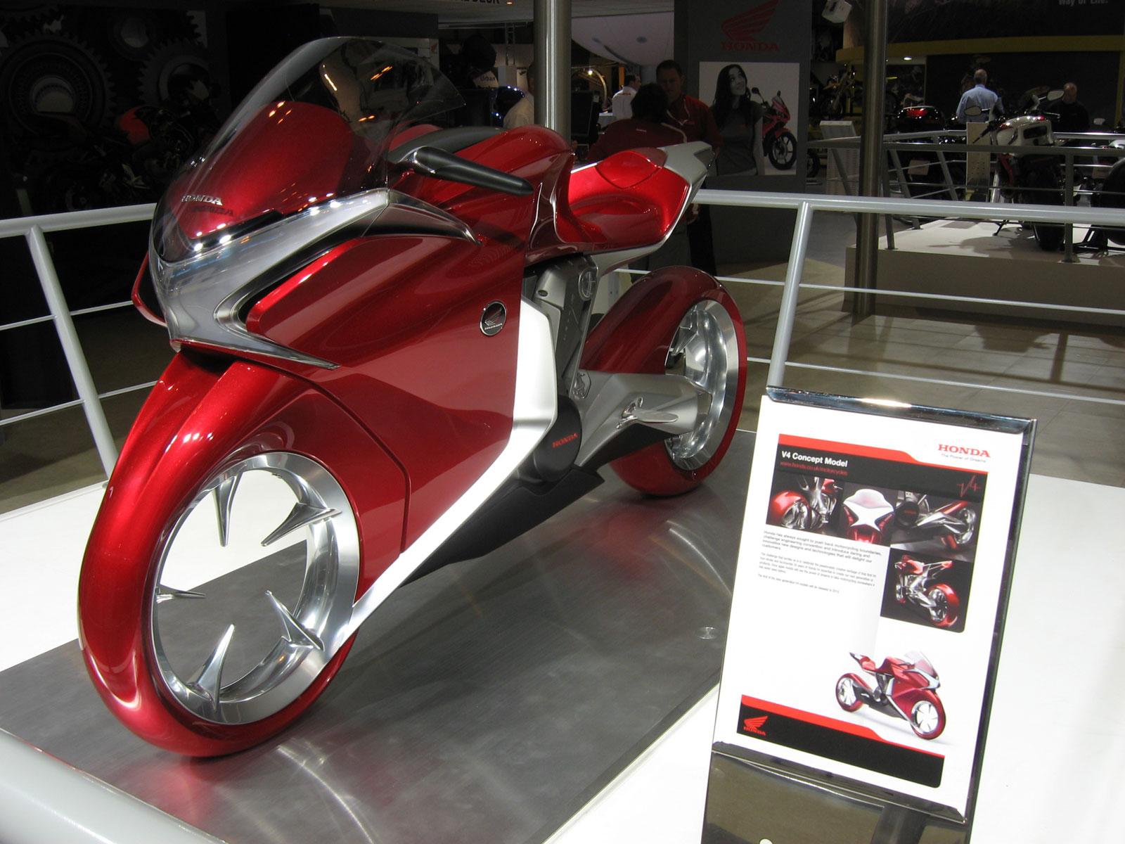Concept/design/photomontage sur R  - Page 4 2009-Honda-V4conceptmodela