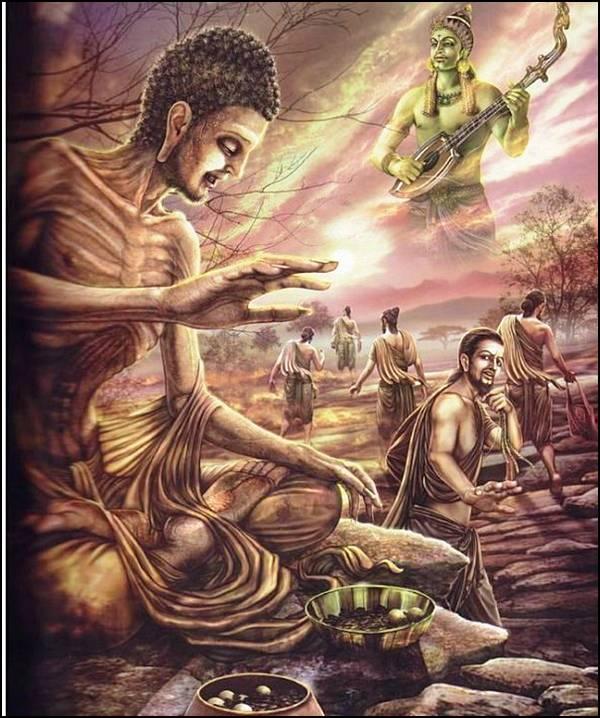 புத்தரின் வாழ்க்கை வரலாறு, படங்களுடன்... 14