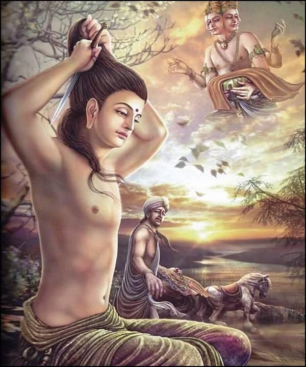 புத்தரின் வாழ்க்கை வரலாறு, படங்களுடன்... 13