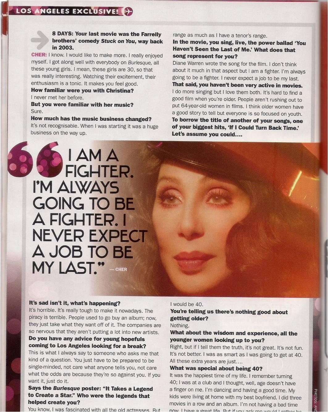 Christina en cover de'8 DAYS'  Scan09