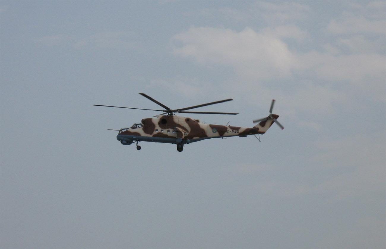 Armée djiboutienne / Djibouti National Army MI-24%2BDJIBOUTI