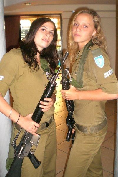 Le kaki au féminin - Page 4 Idf-women-israel-army