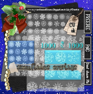 Two snowflakes overlays CU ok :) by Adry Piliero APD_SnowflakesOverlayCUfree-Preview