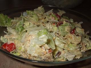 Salade BLT mexicaine(salade-repas) DSCF2126