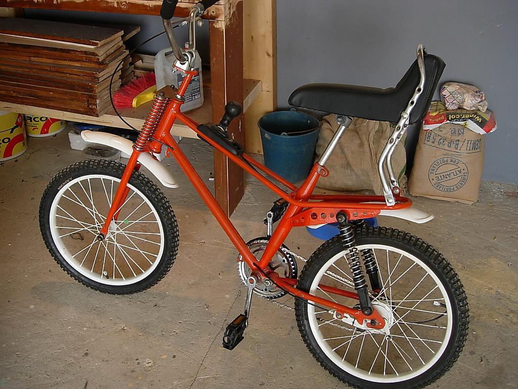 Bici-cross Derbi rescatada de la chatarra Rabassa%2BDerbi%2Bpanter
