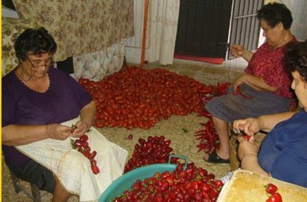 Il Peperoncino Calabrese: il Pepe Rosso della Calabria Infilatura-705646