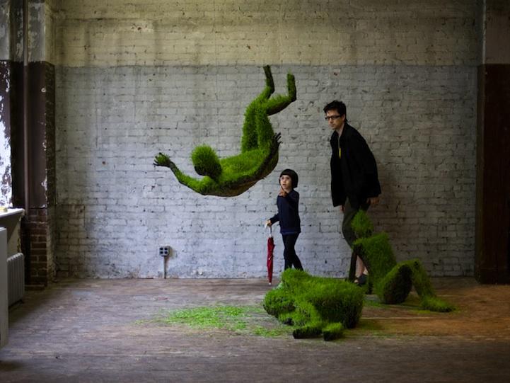 Esculturas con el cesped. Mathilderousselgiraudy0