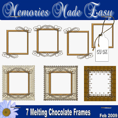 Melting Chocolate MME_Kit-MC_Frames_PREVIEW