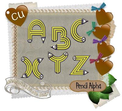 Pencil Alpha (Memories Made Easy) MME_PencilAlpha_Preview