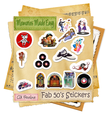 Fab 50's Stickers (Memories Made Easy) MME_Fab50sStickers_Preview