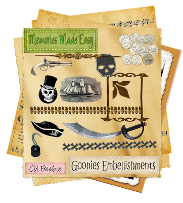 Goonies Kit (Memories Made Easy) MME_GooniesEmbellishments_Preview