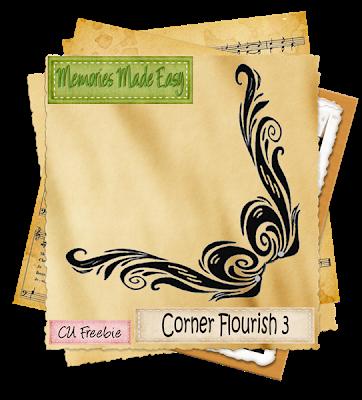 Corner Flourish 3 (memories Made Easy) MME_CornerFlourish3