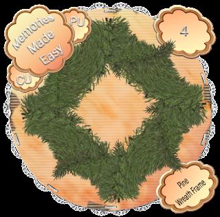 Pine Wreaths 1-4 (CU OK) {Memories Made Easy} PineWreath_4_PREVIEW