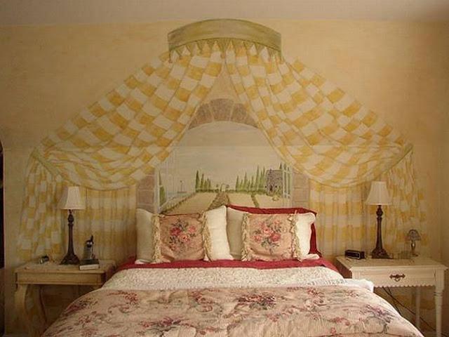 لوحات جدارية ابداعية Wall-drawings13