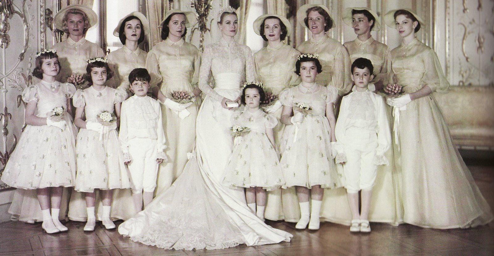 GRACE  1929 - 2009 - Página 5 Grace-kelly-bridal-party-790484