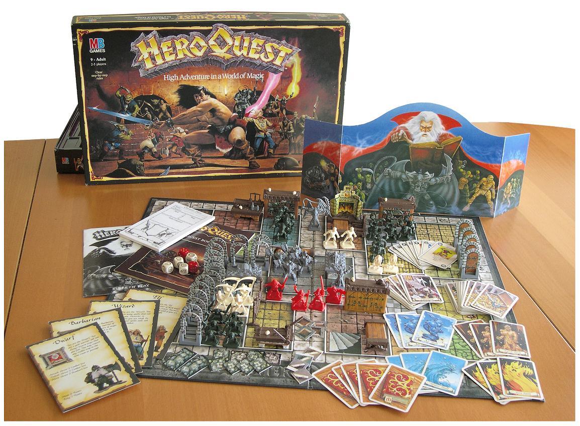 HeroQuest Heroquest_contents