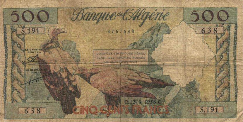 عملة الجزائر من الاستعمار الى يومنا هدا 546272905