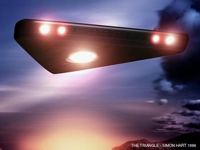 Mais que s'est-il donc passé en cette soirée de 1992 ?... UFO-triangle