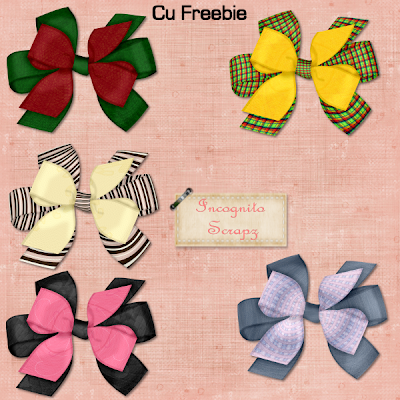 Bows - By: Incognito's Scrapz Cubows