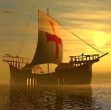¿Fue Colón realmente el primero en descubrir América? Barco-de-los-templarios