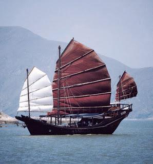 Colón descubrió América, pero no fue el primero en llegar Barco%2520chino