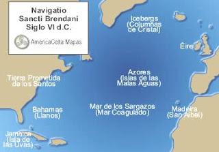 ¿Fue Colón realmente el primero en descubrir América? Mapa