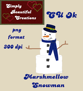 Snowman - By: Simply Beautiful Creations SBC_CU_SnowmanPreview2