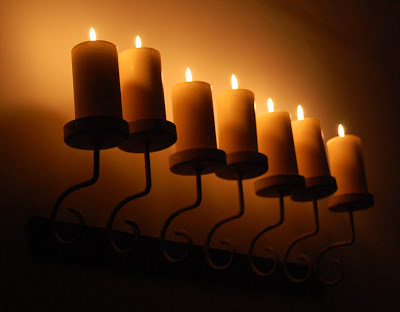 Plamen  svece Kerzenschein