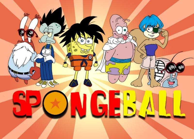 تقرير عن أنمي سبونج بوب  Spongeball%28spongebob%20dragonball%29