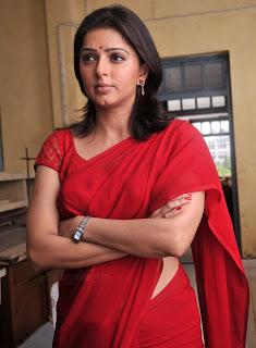 Bomika Chawla Indian Actress Bhumika_chawla_saree_thakita_thakita_03