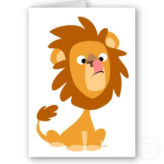 عاشق مجنون أنت  Tl-silly_lion_cartoon_greeting_card