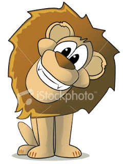 عاشق مجنون أنت  Ist2_3582567-grinning-lion-cartoon