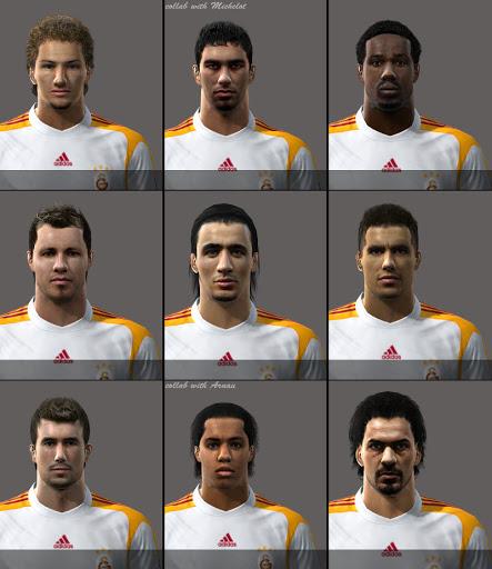 Pes 2010 - Galatasaray Facepack Preview