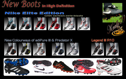 Pes 2010 - New Boots Preview
