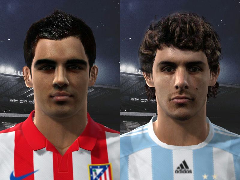 Pes 2010 -Aimar & Jurado Faces Preview