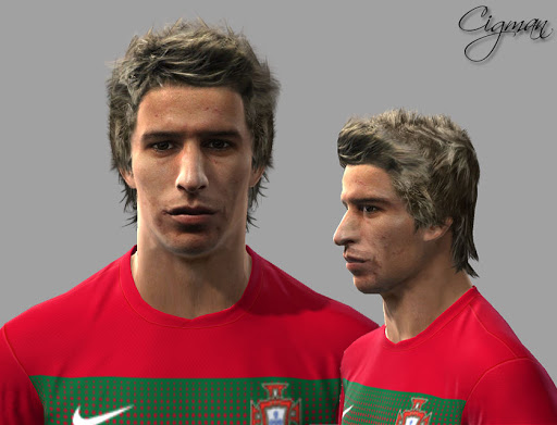 Pes 2010 - Fabio Coentrao Face Preview