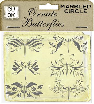 Ornate Butterflies (Marbled Circle) Mc_ornatebutterflies_preview