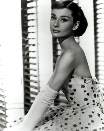 George Clooney reveals his celebrity crush!  Audrey Hepburn! Audrey_hepburn