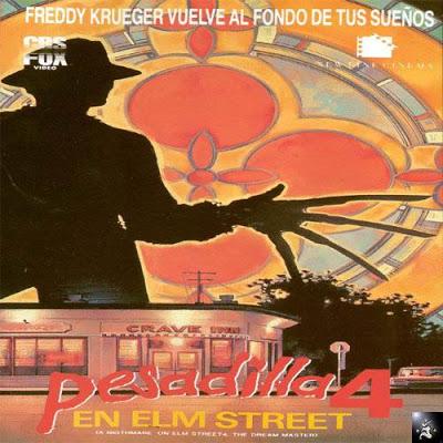 -Los mejores posters/afiches  del cine de terror y Sci-fi- Pesadilla_en_elm_street_4