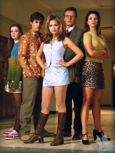 Mode et chiffons au cinéma et à la télévision  Buffy-season1