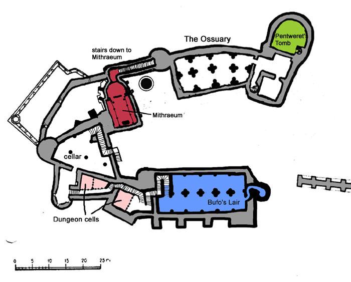 Castelul Corvinilor Subsol